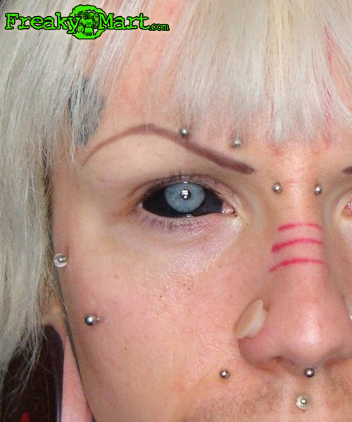 Eyeball freaky mart for Tattoo your eyes