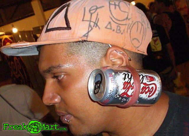 soda can gauge