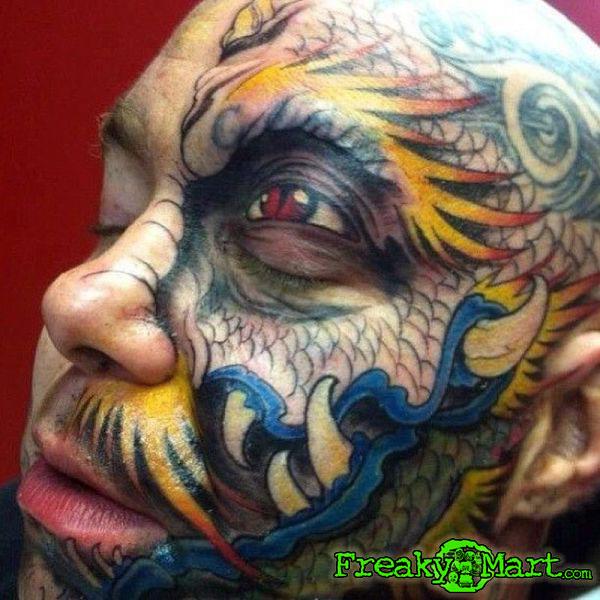 Dragon Face - Freaky Mart